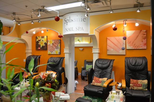 Pedicure Stations | Splashie Nail Spa